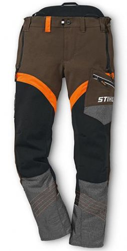 Genuine STIHL X-Flex Design C Trousers (Orange/Peat)